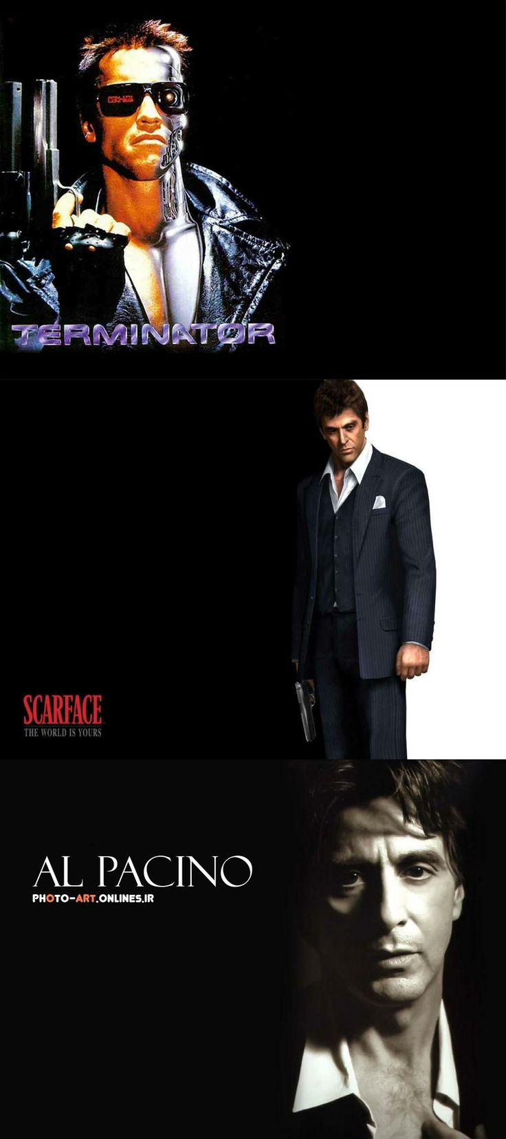 M s de 25 ideas incre bles sobre scarface poster en for Occhiali al pacino scarface
