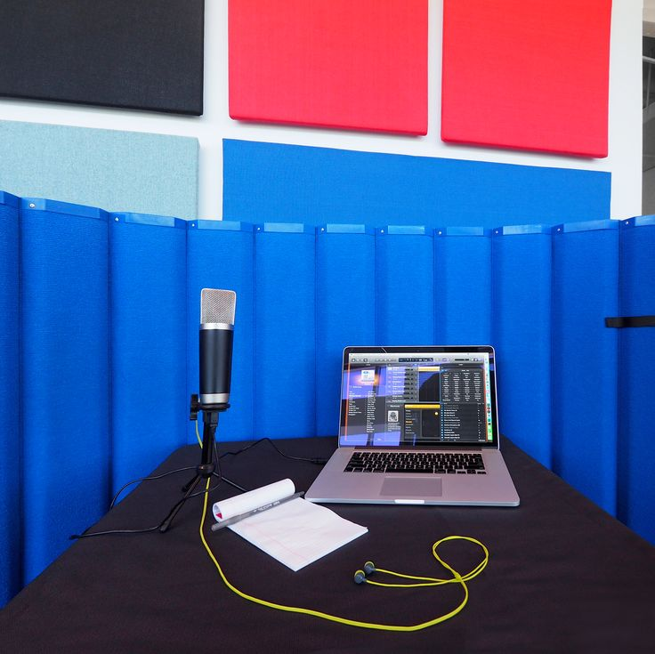 Enclose Yourself In Acoustical Privacy For Recording Sessions Our Sound Stone Panels Versipanels Work