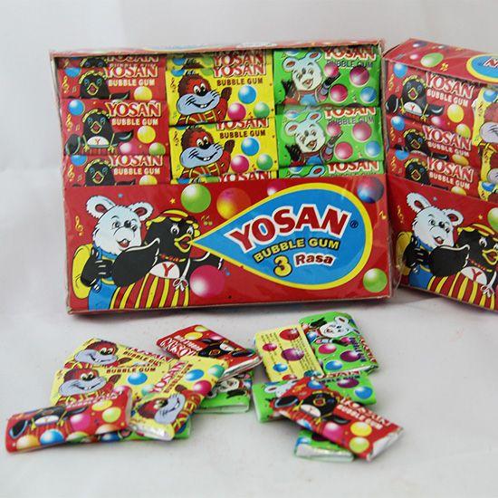 Yosan Bubble Gum | Rp 15.000 (Isi 60)
