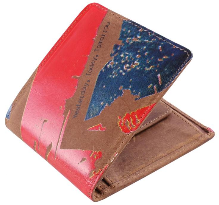 Mustard Wallet - Mod Leather Wallet #Mustard #Mens #Wallet