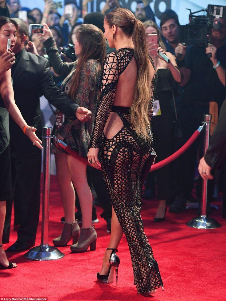 Jennifer Lopez wears two daring dresses at Billboard Latin Music #dailymail