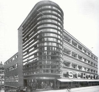 Erich Mendelsohn - Kaufhaus Schocken (Stuttgart, 1928)
