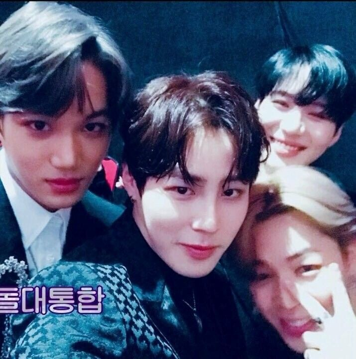 JIMIN (BTS) x TAEMIN (SHiNee) x Kai (EXO) x Sungwoon (Wanna One) I STAN THIS FRIENDSHIP #jimin #bts #sungwoon #wannaone #hotshot #taemin #shinee #kai #exo