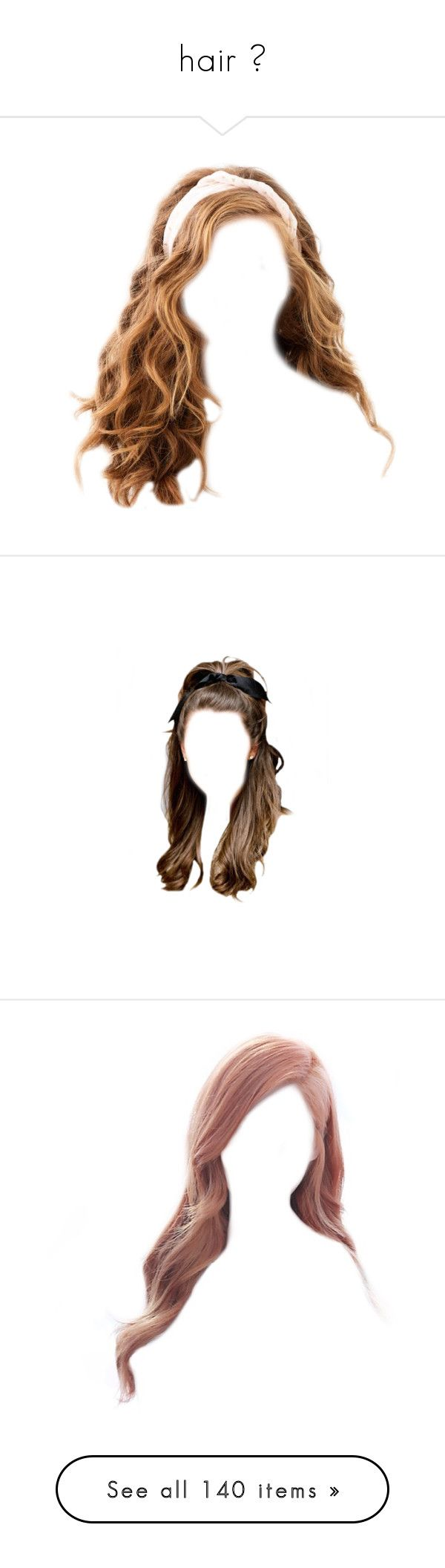 """""""hair ♡"""" by foreverdreamt ❤ liked on Polyvore featuring accessories, hair accessories, hair, hair band accessories, hair band headband, headband hair accessories, head wrap hair accessories, head wrap headbands, beauty products and haircare"""