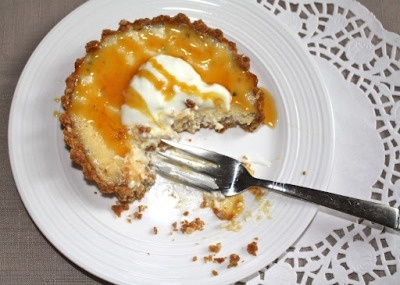 Lemon, passionfruit and ricotta tart | Sweet and fancy | Pinterest