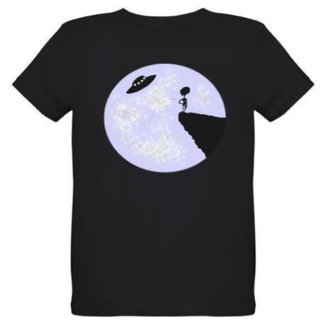 FULL MOON ALIEN T-Shirt on