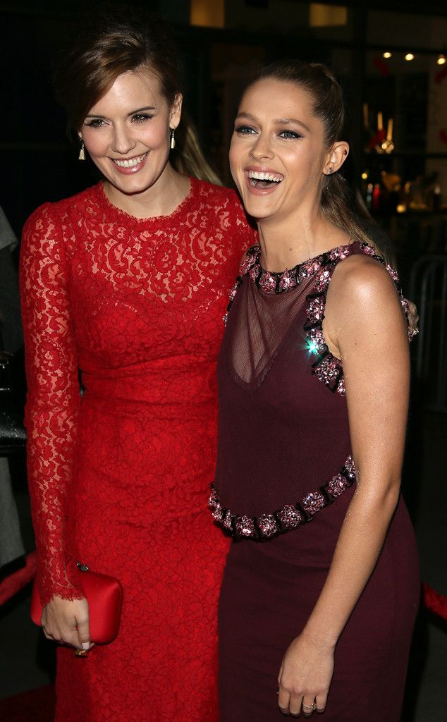 Teresa Palmer & Maggie Grace from Movie Premieres: Red Carpets and Parties!