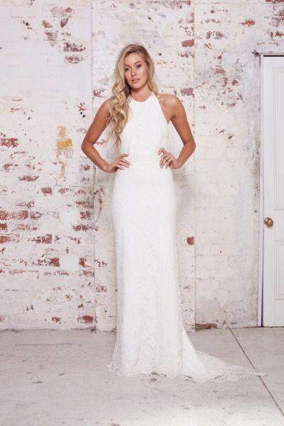 25  best ideas about Halter wedding dresses on Pinterest | Wedding ...