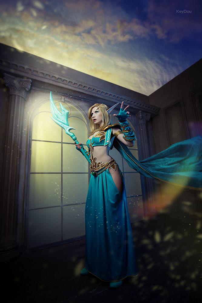 Glory to the Sin'dorei - Blood elf cosplay by Narga-Lifestream.deviantart.com on @DeviantArt