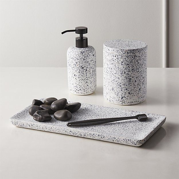 Scala Terrazzo Bath Accessories With