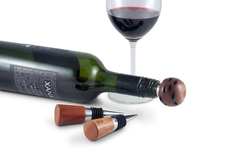 Classic Wine Bottle Stoppers | Australian Woodwork || Sustainable Wood Products: www.australianwoodwork.com.au