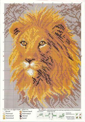Cross Stitch *♥* Lion