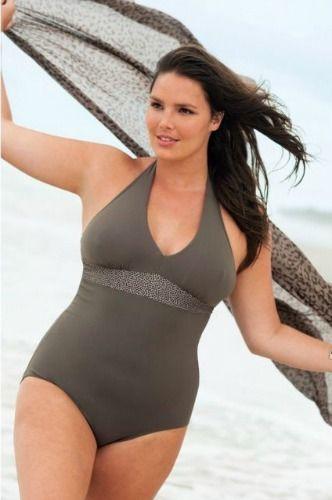 Un maillot de bain grande taille glamour et #sexy #rondeurs #curvy