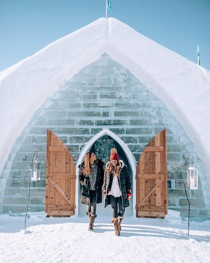 Magic snow building