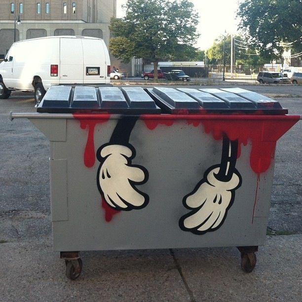 Best Pojemniki Kosze Na śmieci Bins Images On Pinterest - Street artist turns street furniture into characters