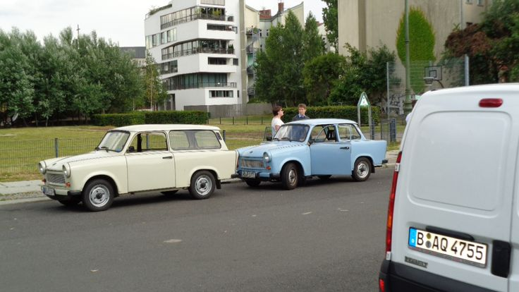 Former East German Cars - Trabant