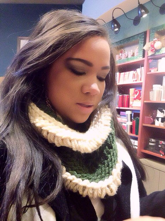 Drop Stitch Cowl on Etsy, $25.00