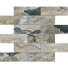 2X6 Bengal Autumn Brick Msc 10Ea/Cv