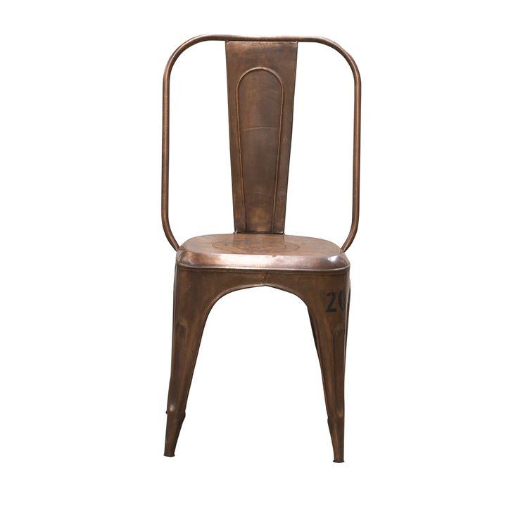 melissa stol koppar
