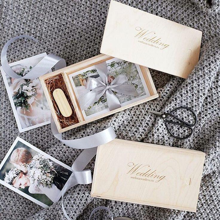 Короб для флешки и фото 10х15 по 500р с гравировкой лого. #упаковкафотографа #коробдляфото #woodbox #usbbox