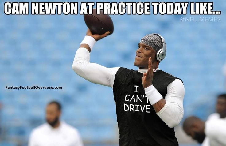 Cam Newton seen wearing this T-Shirt at practice today