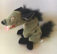"""Disney Store Lion King Ed Plush Stuffed Animal Bean Bag 7"""" Laughing Hyena Toy"""