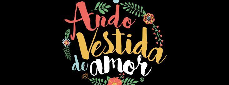 Capa para Facebook - Ando Vestida de Amor - Euzaria