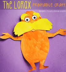 Image result for the lorax cutouts