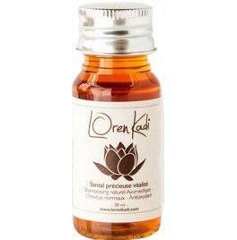 Mini-sampon pretios revitalizant si stimulant cu santal, miere si plante ayurveda