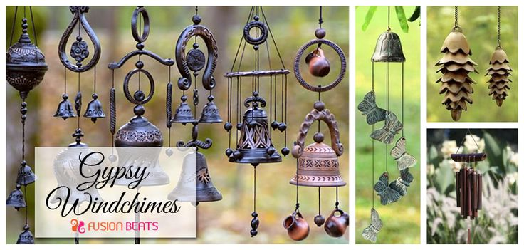 These aural ornaments add a positive vibe to the house. Go for Gypsy wind chimes to play with wind.
