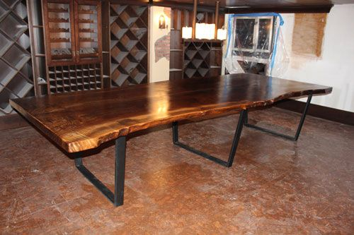 Farm Wood Furniture ~ Images about rustic dining room tables on pinterest