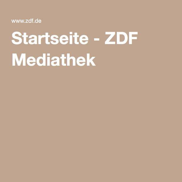 Startseite - ZDF Mediathek