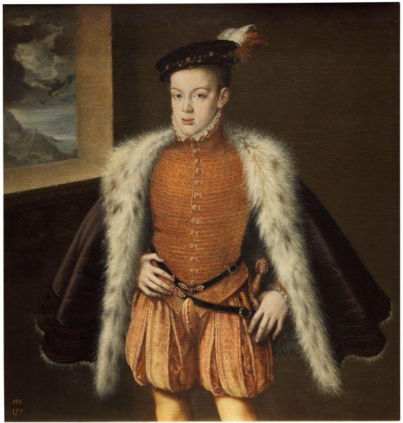 El príncipe don Carlos,1559. Museo del Prado,Madrid.