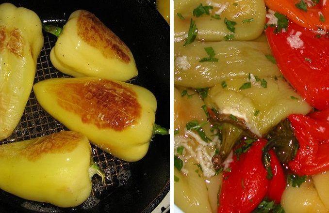 Pečená paprika - Receptik.sk