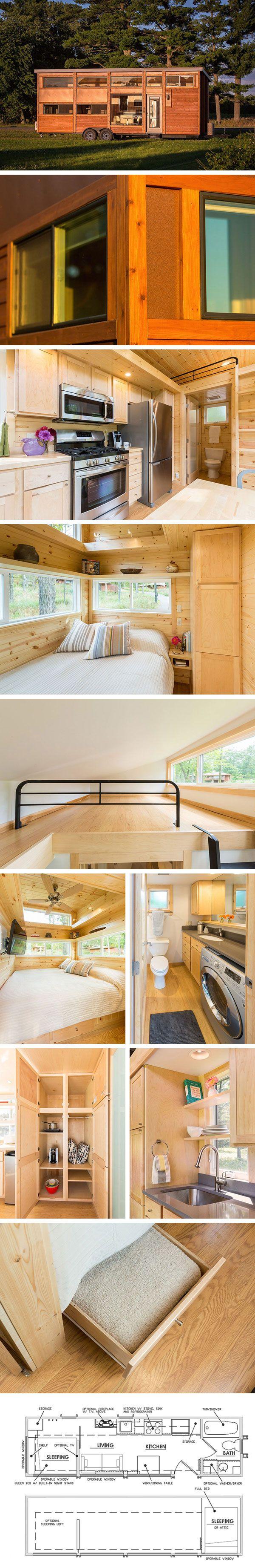 Дом на колесах Traveler XL от Escape Traveler #tinyhomesdigest #tinyhouse #houseonwheels #camper