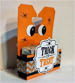 stamp and stretch chalk talk halloween treat box - Halloween Treat Holders