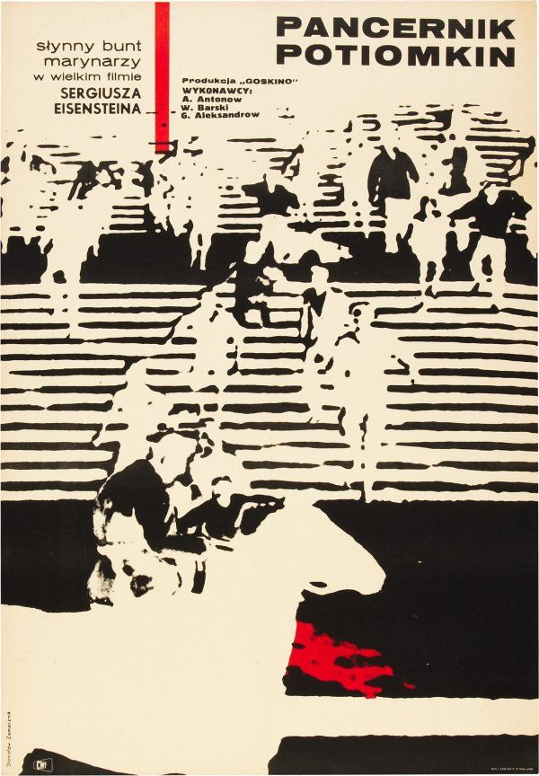Polish re-release one-sheet by Stanislaw Zamecznik (1967)
