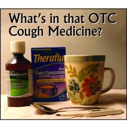 A description of common ingredient in OTC cold medicines