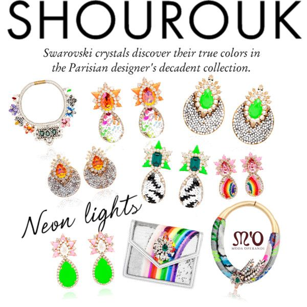"""Discover Spring Neons with Shourouk"" by modaoperandi on Polyvore"