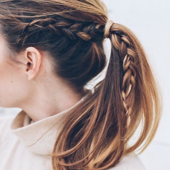 CLICK HERE http://www.youtube.com/channel/UCqEqHuax3qm6eGA6K06_MmQ?sub_confirmation=1 Braid-spo  we're lovin' this plaited pony tail look #hair #inspo #beauty #hairinspiration #hairinspo #plait #braid by ukglamorous