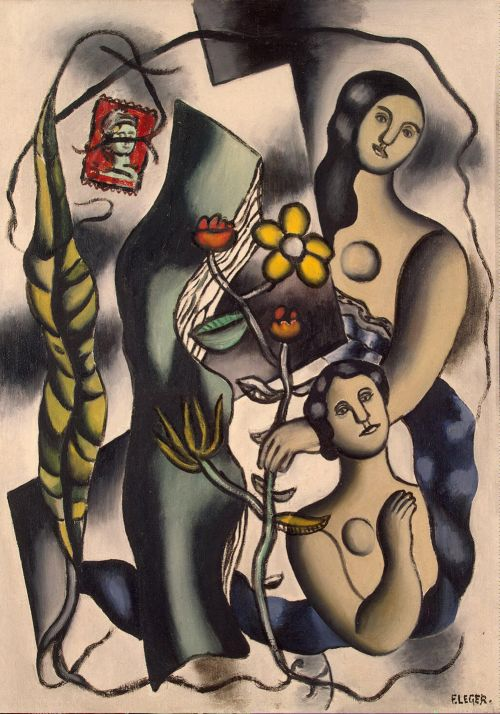 Postcard, c.1932-1948. Fernand Leger. Oil on canvas