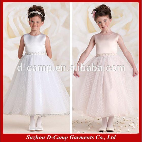 Fg-111 senza maniche abito da ballo di perline vita prima comunione bambina vestire le ragazze-Abiti da ragazza di fiore-Id prodotto:1408273142-italian.alibaba.com