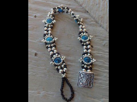 Southwestern Style Bracelet Tutorial - YouTube