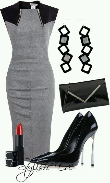Classy business professional outfit!