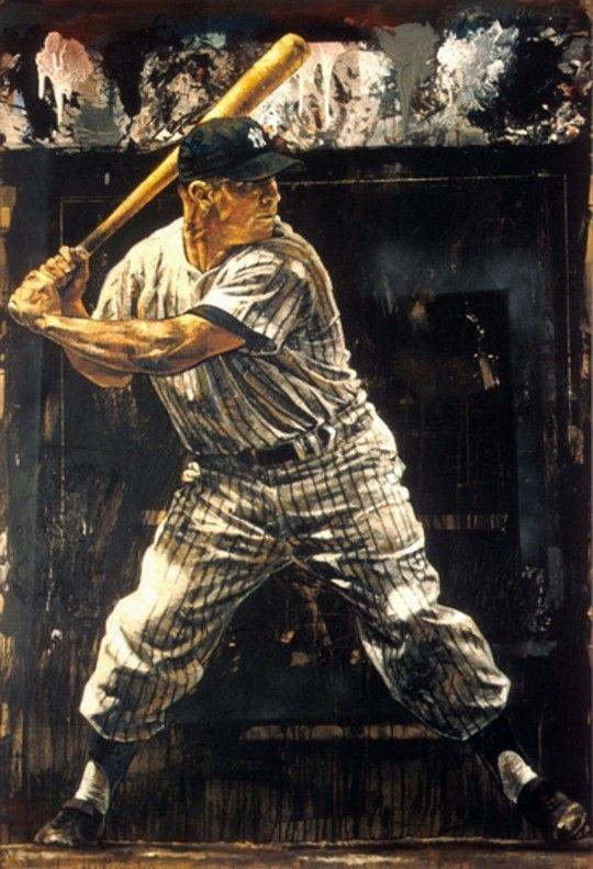 Baseball art, more @ http://www.TheSportsWonk.com
