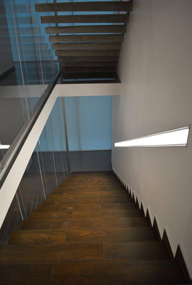 M s de 10 ideas incre bles sobre iluminaci n de la - Luces para escalera ...