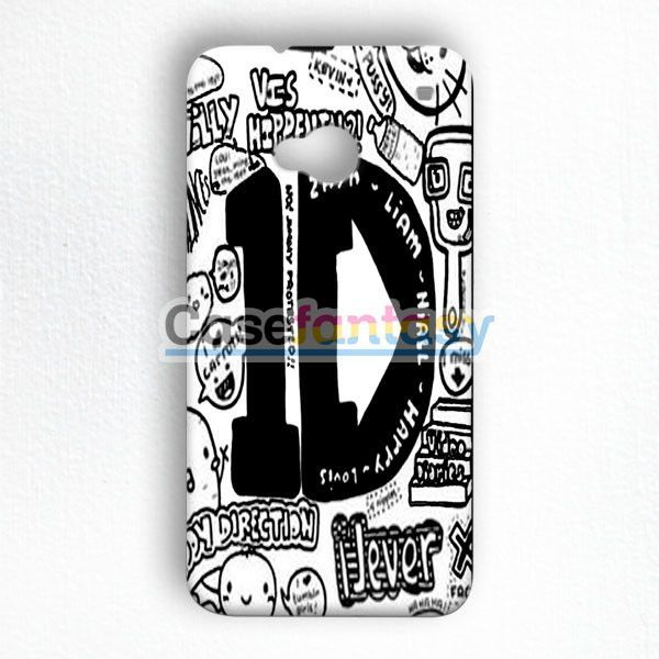 One Direction And 5Sos Collage HTC One M7 Case | casefantasy
