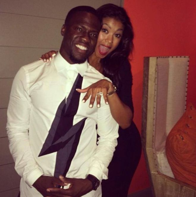 Kevin Hart and Eniko Engagement!
