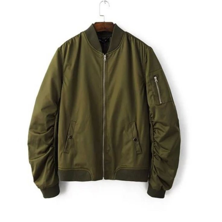 17 best ideas about green bomber jacket on pinterest army green bomber jacket bomber jackets. Black Bedroom Furniture Sets. Home Design Ideas