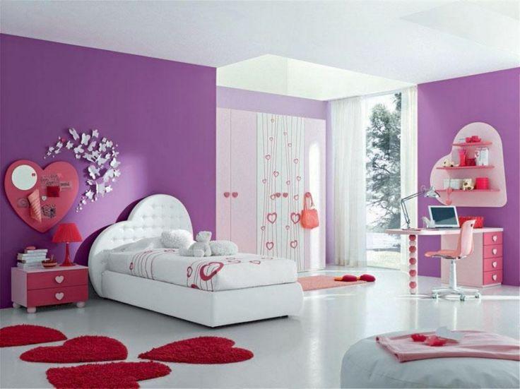 82 best purple girl's bedroom decorating images on pinterest